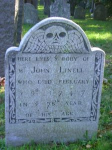Gravestone Project – Linnell Family Association